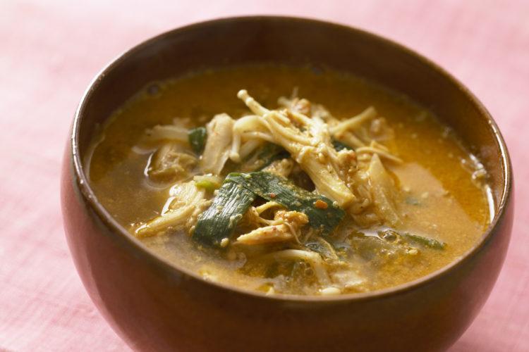 鶏肉スープ