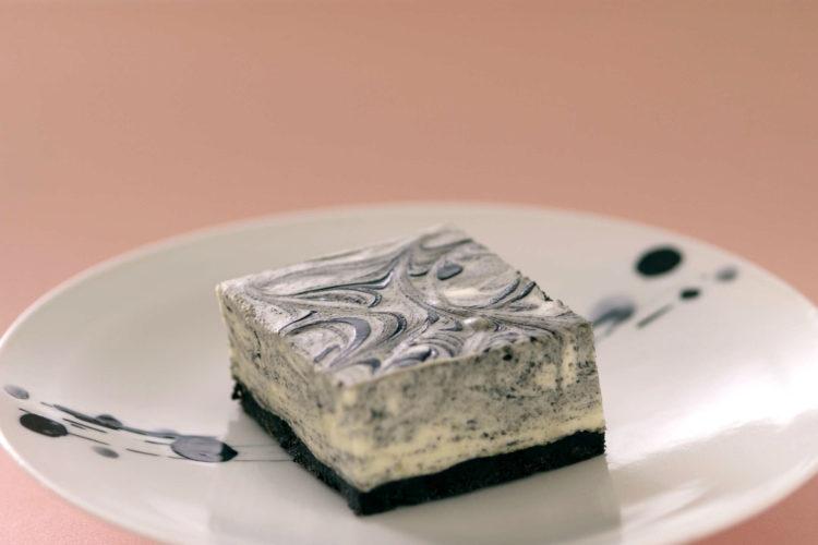ブラックマーブルチーズケーキ