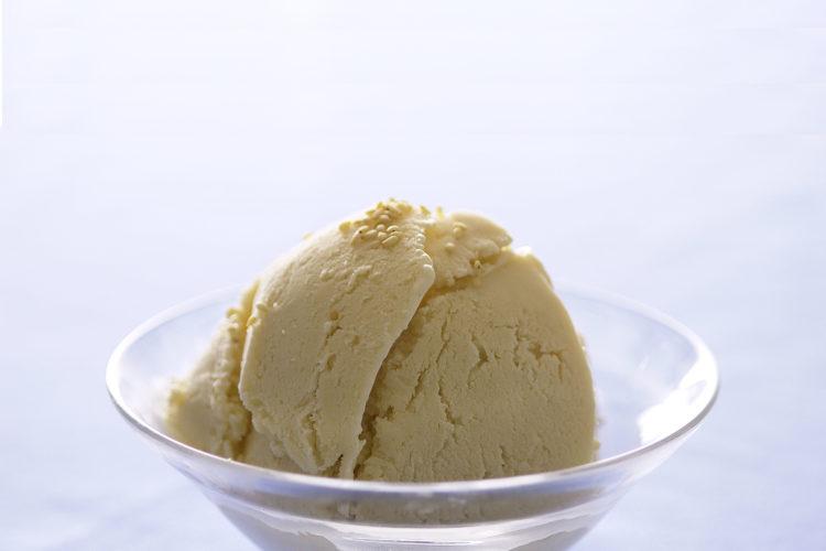 白ごまの豆腐アイス
