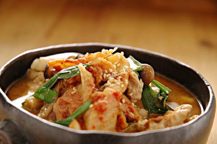 韓国風ごまみそチゲ