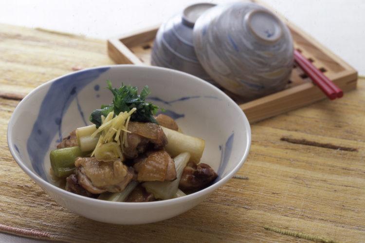 鶏とねぎの炒め煮