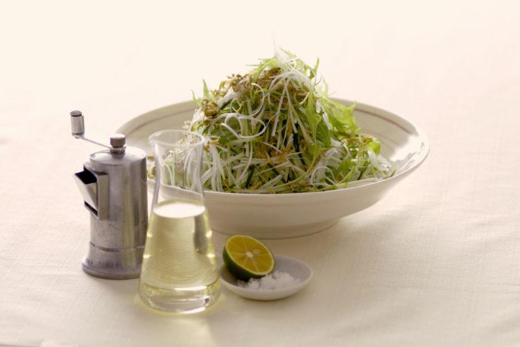 和風野菜のシンプルサラダ