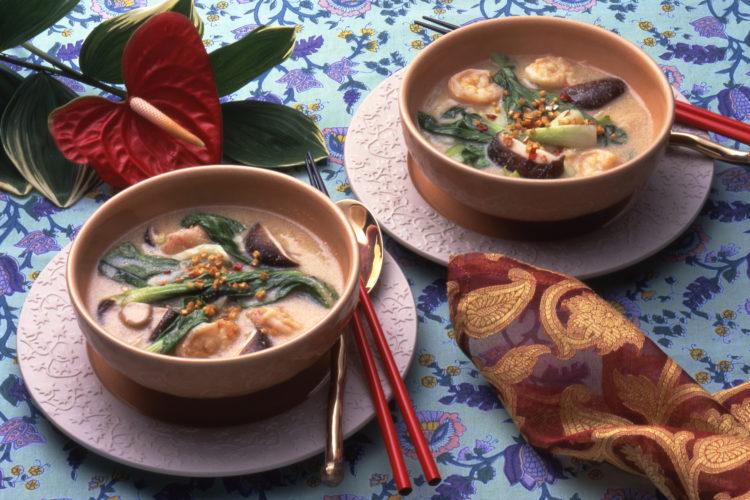 中華風ごまスープ