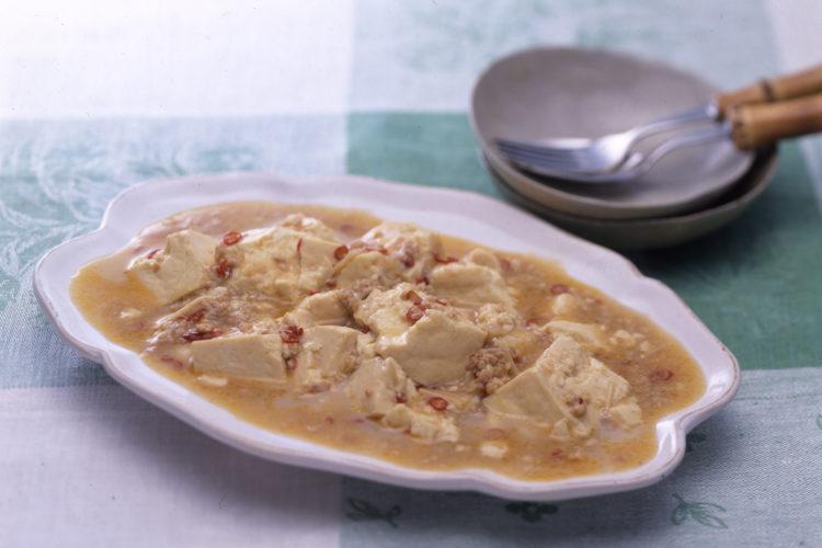 豆腐の四川風ごまみそ煮