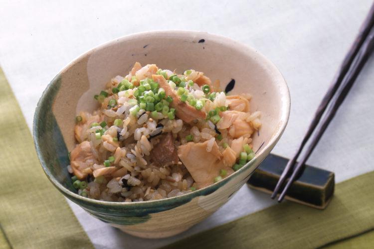 鮭混ぜご飯