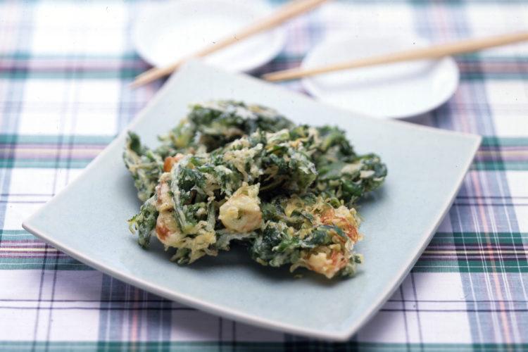 香味野菜の天ぷら