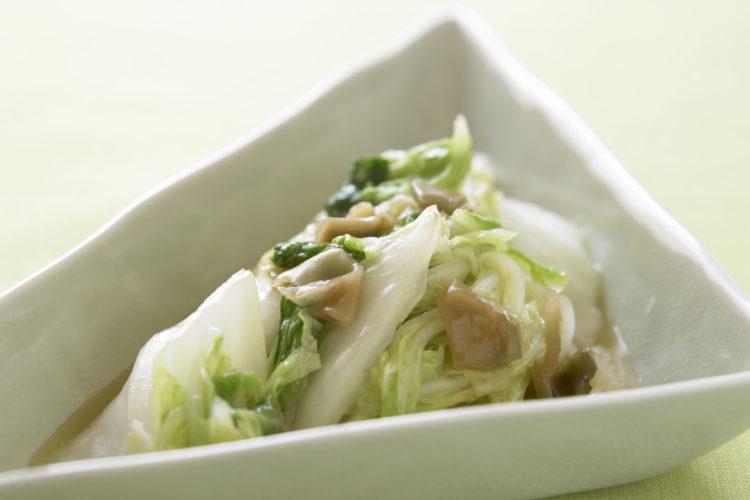 白菜とザーサイの中華炒め