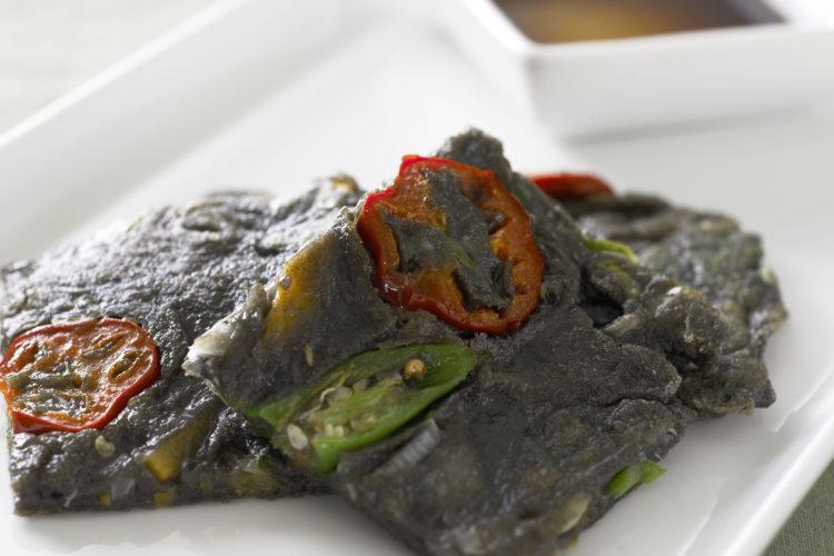 ごま風味野菜チヂミ