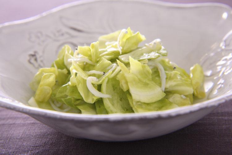 キャベツとしらすの簡単サラダ