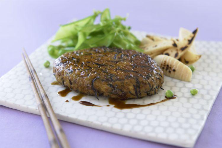 ひじきと豆腐のハンバーグ