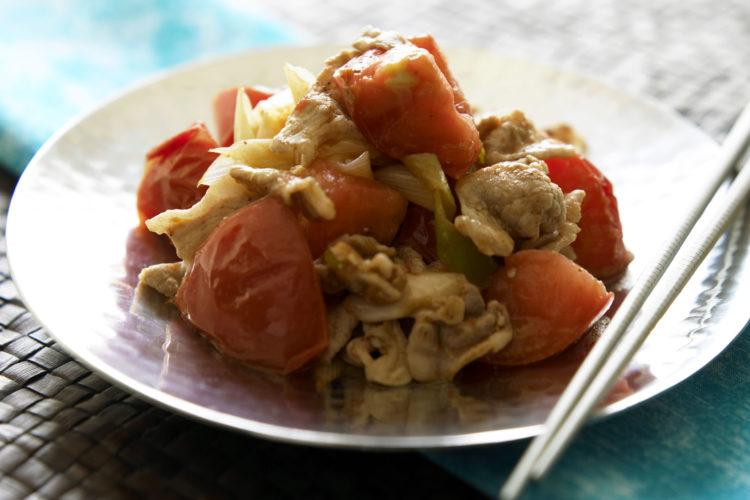 豚肉とトマトの炒め物