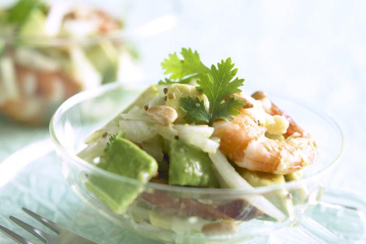 アボカドと海鮮のサラダ