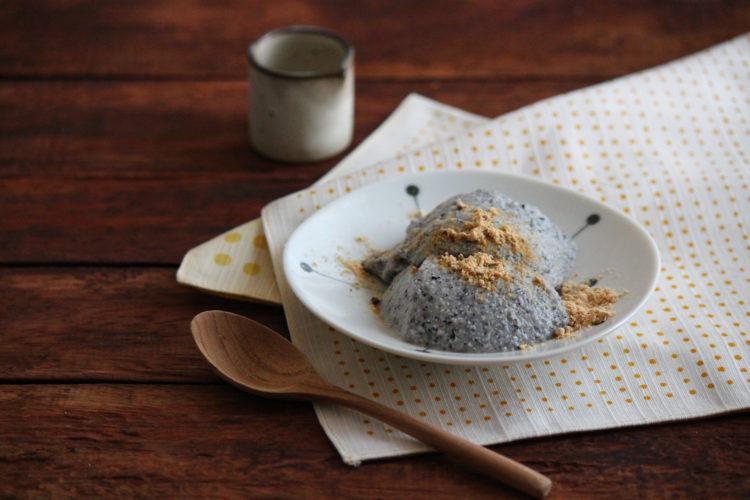 黒ごまのお豆腐ババロア