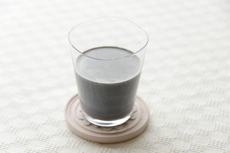 黒ねりごまミルク