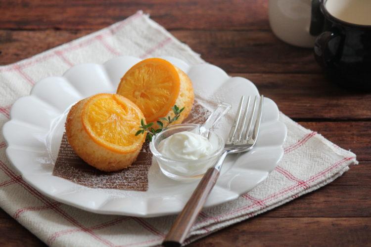 ジューシーオレンジケーキ