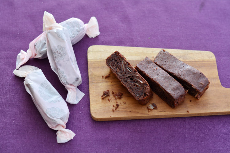チョコアーモンドスティックケーキ