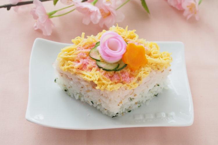 ごまのひし餅風ちらし寿司
