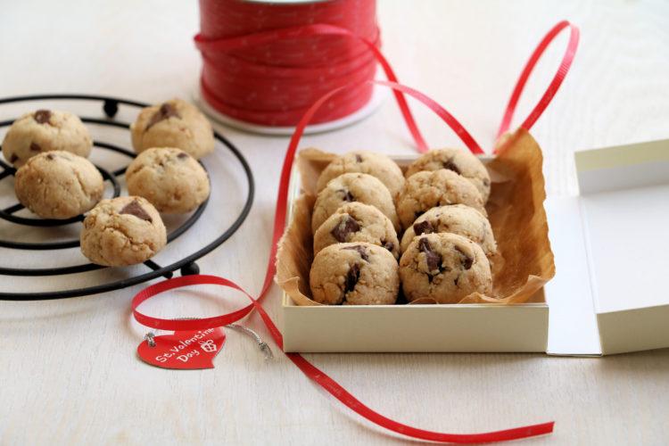 ごまチョコクッキー