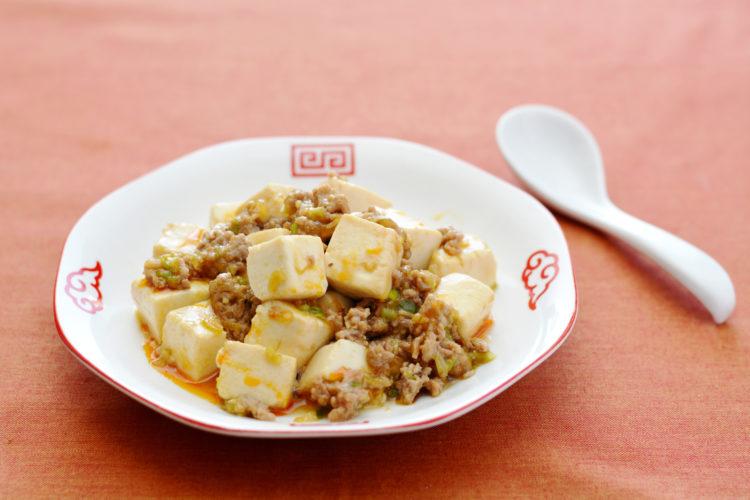 濃口ごま油&らー油の麻婆豆腐