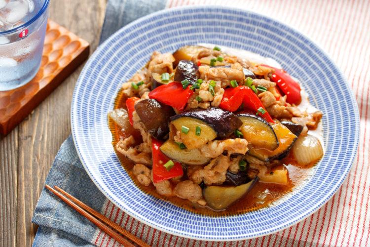 夏野菜たっぷり酢豚