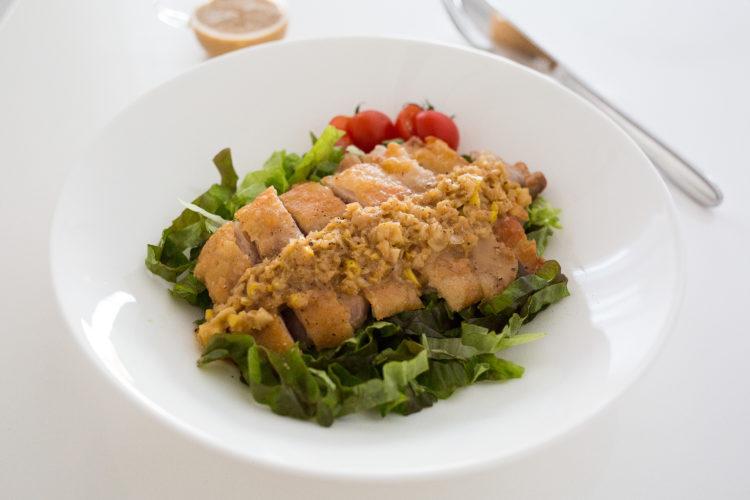 パリパリ油淋鶏(ユーリンチー) 香味ごまダレ