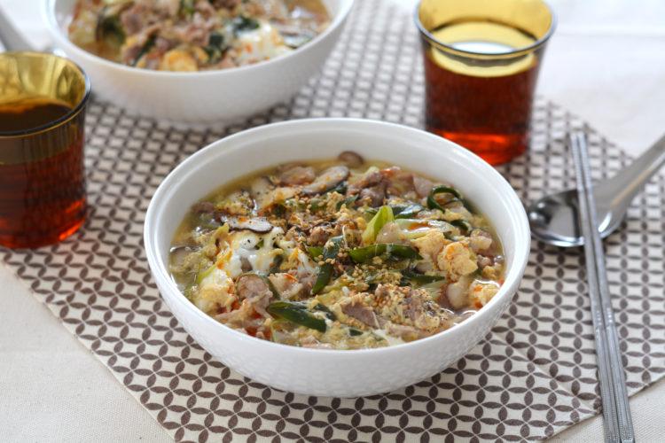 簡単酢辣湯麺