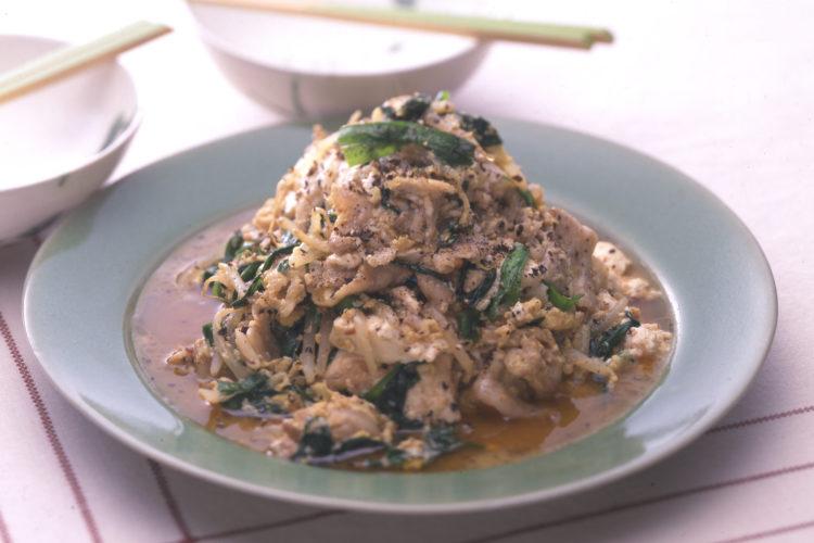 中国風炒り豆腐
