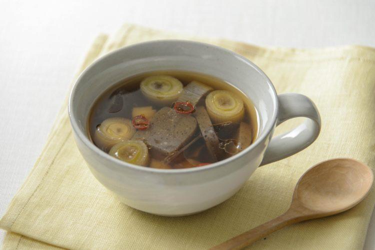 ぴりこんスープ