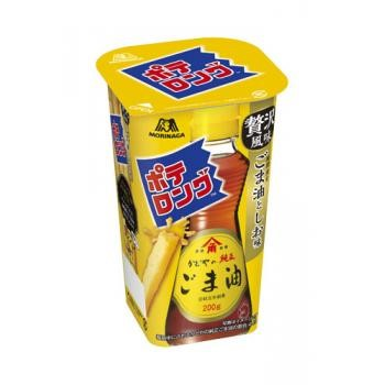 森永製菓<br>ポテロング<ごま油としお>