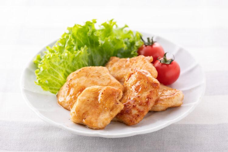 鶏むね肉のポン酢ソース