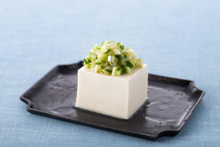 豆腐のねぎ香味ダレ